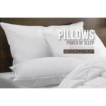 Bedding Cheap หมอนขนเป็ด รุ่น Pillow Land Microgel
