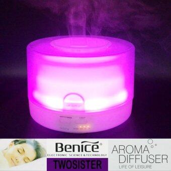 Benice Twosister เครื่องพ่นไอน้ำอโรม่า 500 ml. Home/Office Large Ultrasonic Aroma Diffuser