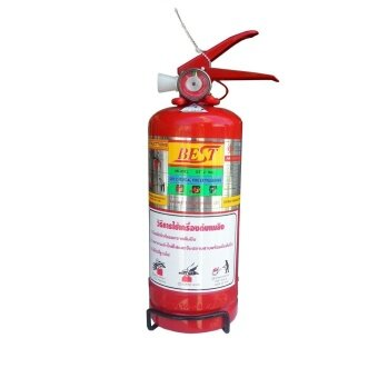 BEST ถังดับเพลิง 2 Lbs Dry Chemical Fire Extinguisher - Red ...