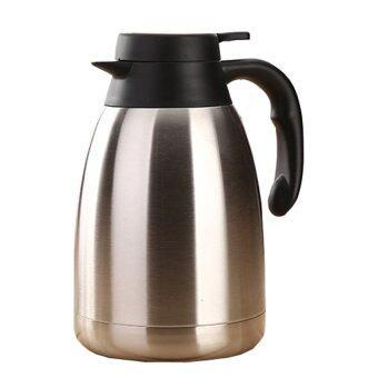 BEST Stainless Steel Insulated Vacuum Hot Cold Water Bottle FlaskContainer หม้อต้มกาแฟ แบบสแตนเลส ขนาด - 2