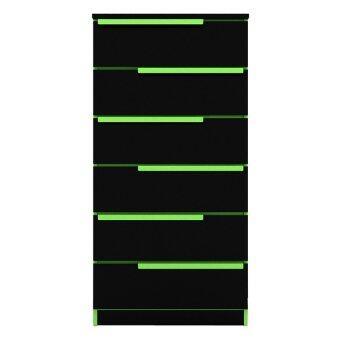 เสนอราคา Besta ตู้ลิ้นชักอเนกประสงค์ Choco 6ชั้น - สีเขียว