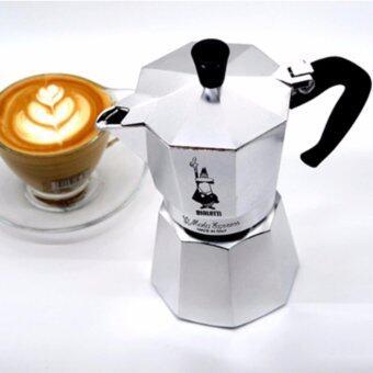 Bialetti หม้อต้มกาแฟ เครื่องชงกาแฟสด เครื่องชงกาแฟ เครื่องทำกาแฟสด ขนาด 9 ถ้วย รุ่น Moka Express