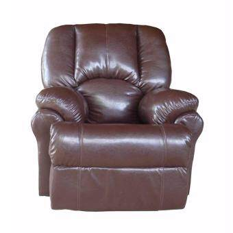 เสนอราคา Bofa โซฟา 1 ที่นั่ง ST015-14(MF) PU BY CAST BROWN สีน้ำตาล 95*98*105 cm.