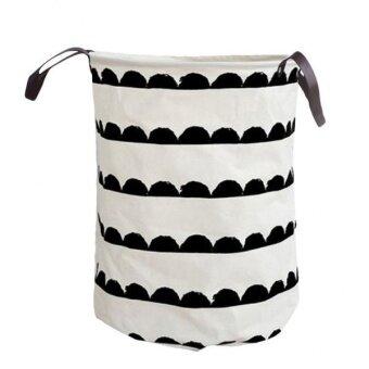 BolehDeals Collapsible Storage Basket Clothes Laundry Hamper ToysBucket Organizer 08