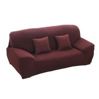 เสนอราคา BolehDeals Spandex Stretch Lounge Sofa Couch Seat Cover SlipcoverCase Decor Coffee