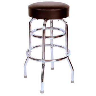 BudgetBarStools : BBS0-1952BLK* เก้าอี้บาร์ Commercial Grade Black Restaurant Swivel Bar Stool