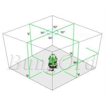 BungOrd ระดับน้ำเลเซอร์ 5 เส้น (แนวตั้ง 4 เส้น , แนวนอน 1 เส้น , จุดดิ่ง 1 จุด) เครื่องวัดระดับเลเซอร์ 360 องศา (สีเขียว) พร้อมกล่องเก็บอุปกรณ์ แถมฟรี! ขาตั้งวัดระดับ มูลค่า 590 บาท