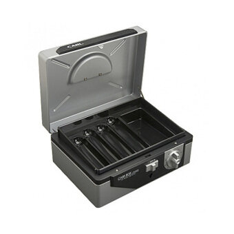 Carl กล่องเซฟนิรภัย Carl CB-8300 - สีบรอนซ์เงิน - 2