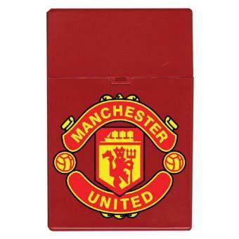 CBox กล่องใส่บุหรี่ สกรีนลายโลโก้ทีมดัง (สีแดง)