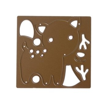 Christmas Small Deer Joint DIY Metal Scrapbook Craft Cutting Die -intl