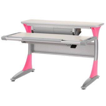 COMF-PRO โต๊ะเด็ก-ผู้ใหญ่ เพื่อสุขภาพ รุ่น BD333 - สีชมพู