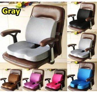 ประกาศขาย Comfort ชุด เบาะรองนั่งทำงาน เบาะรองนั่ง เบาะรองหลัง หมอนรองนั่งหมอนรองหลัง ที่พิงหลัง ที่รองนั่ง คุณภาพสูง อันดับ 1 (สีเทา)