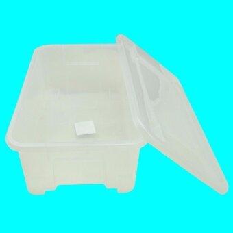 Cook Ware กล่องใส่รองเท้า Shose Box ขนาด 35x23x12 cmรุ่น No.909-1สีขาว