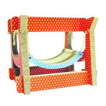 รีวิว CPD IDEAsที่นอนแมวKitty Swing Orange Polka Dot