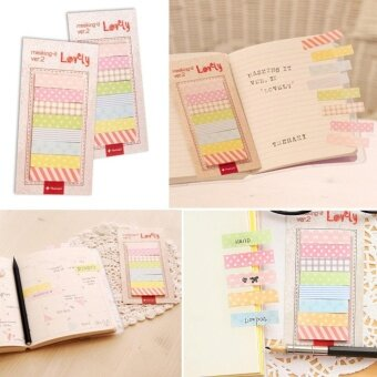 Cute 160 Pages Sticker Post It Bookmark Point It Maker Memo Flags Sticky Notes - intl