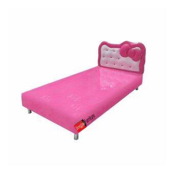 DAXTON 3.5 ฟุต เตียงคิตตี้ รุ่น MEOW MEOW PINK BED Single Bed(ส่งกรุงเทพฯและปริมณฑลเท่านั้น)