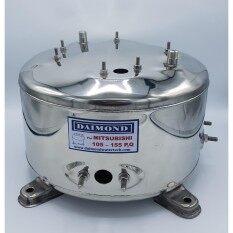 diamond ถังปั๊มน้ำ ถังสแตนเลสปั๊มน้ำ ถังน้ำสแตนเลส มิตชู Mitsubishi WP 85-155P, Q, Q2, Q3, QS, Q5 (อย่างหนา)