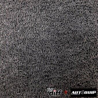 DIFF พรมใยไวนิลดักฝุ่น หนาพิเศษ 13 MM. (PVC FLOOR MAT) ขนาด 120X120 CM. สีเทา