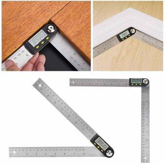 Digital Electronic Protractor Angle Finder Miter Goniometer Gauge Ruler 200mm - intl