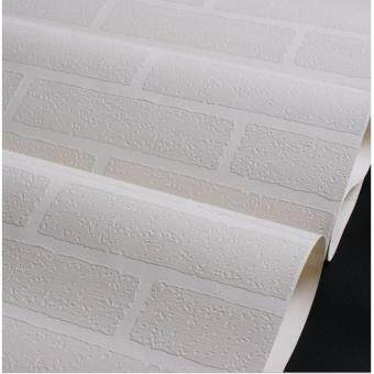Dnam Wallpaper(No glue)วอลเปเปอร์ไม่มีกาว3D รุ่น B103 ขนาด 53ซม. x 10 ม.(5ม้วน=50เมตร)