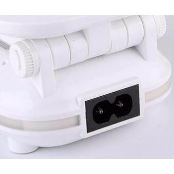 DP-6001 LED18ดวง (หัวหมุนได้) ตั้งโต๊ะแบบอเนกประสงค์พับเก็บได้(มีไฟหรี่) - 4