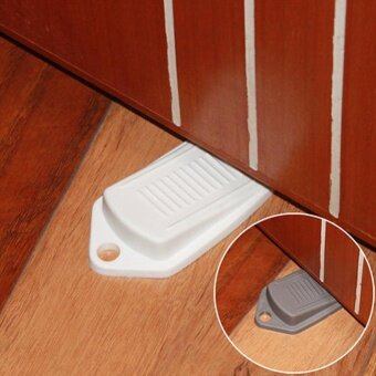 Eachgo 2pcs Creative Baby Safety Guards Door Stopper Infants Protection Door Plug Stopple - intl