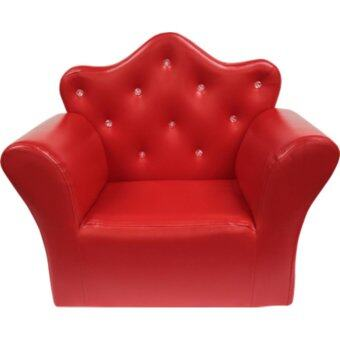 ECF Furniture Princess Chair ( Sofa เด็ก ) - สีแดง