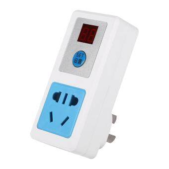 Electrical AC 220V Energy-saving Timer Socket Home Appliances Digital Timing-Switch (24 Hours) - intl