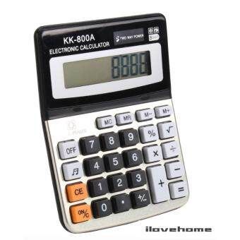 ELECTRONIC CALCULATOR เครื่องคิดเลข รุ่น KK-800A แบบตั้งโต๊ะ (New)