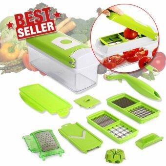 Elit One Second Slicer ชุดหั่นผัก สไลด์ผักอเนกประสงค์ รุ่น OSL044-DJ - สีเขียว