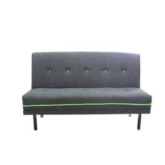 ENZIO โซฟาปรับนอน 3 ที่นั่งใหญ่พิเศษ หุ้มผ้าฝ้ายสังเคราะห์ รุ่น CHILL LOFT-3 Gray filling green / Colors (สีเทาตัดเขียว)(ส่งกรุงเทพฯและปริมณฑลเท่านั้น)