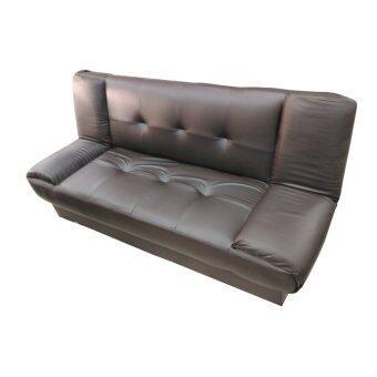 ENZIO โซฟาปรับนอน 3 ที่นั่ง ใหญ่พิเศษหุ้มหนังอย่างดี คละแบบ รุ่น Nature-3 (สีน้ำตาล)