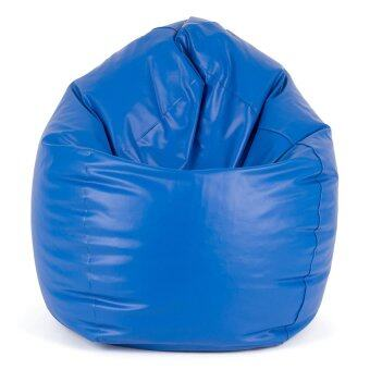 Esupersave เก้าอี้ Beanbag ทรงหยดน้ำ Ø80 ซม. (สีน้ำเงิน)