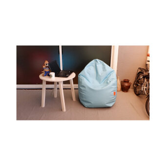 Esupersave เก้าอี้ Beanbag ทรงหยดน้ำ Ø80 ซม. (สีเขียวพาสเทล)