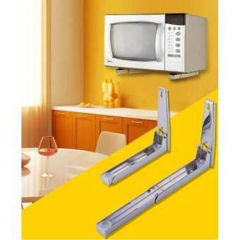 อยากขาย ETC Microwave Shelf ชั้นวางไมโครเวฟ แบบเจาะติดผนัง กำแพง
