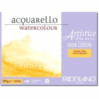 สมุดสีน้ำ Fabriano รุ่น Artistico Extra White Cold Press(ผิวกึ่งหยาบ)