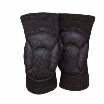 Fancyqube Popular 1Pair Cotton Knee Support Brace Sports ProtectionKnee Thin Pad - intl