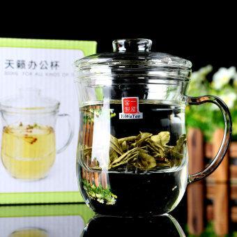 First House โปร่งใสแก้วสำนักงานฟองชาถ้วย