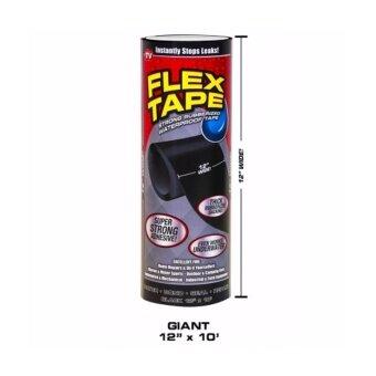 Flex Tape 12 นิ้ว เทปมหัศจรรย์ เทปกาว จาก USA อุดรูรั่วได้ทุกชนิด ของแท้ คุณภาพสูงสุดในเวลานี้