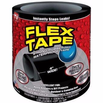 Flex Tape เทปกาวอเนกประสงค์ แรงยึดสูงพิเศษ หน้ากว้าง 4นิ้ว ยาว60นิ้ว ...