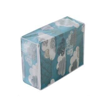 Foldable Storage Bag Clothes Blanket Quilt Closet Sweater Organizer Box - intl