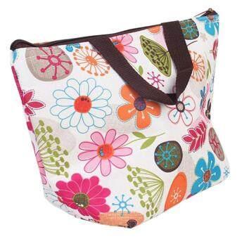 foonovom Picnic Insulated Lunch Cooler Tote Travel Zipper Organizer Box