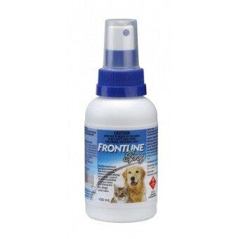 Frontline Spray สเปรย์ กำจัดเห็บและหมัด 100cc