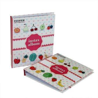 FujiFilm อัลบั้มรูป Instax Mini Album Fruit ลายผลไม้ (2 เล่ม)