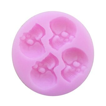 Funny Silicone Halloween Cake Bakeware Mold Cookie Chocolate Jelly\nCandy Fondant DIY Decorating Tools Unicorn Style - intl