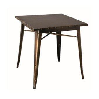 Furintrend โต๊ะเหล็ก เฟอร์อินเทรน รุ่น European (สีทองแดง Antique)