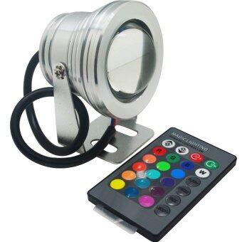 G2G ไฟใต้น้ำ LED 12V พร้อมรีโมทควบคุมระยะไกล 24 ปุ่ม จำนวน 1 ชิ้น