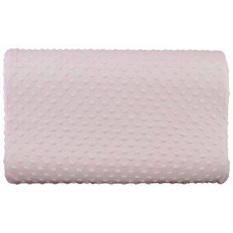 GetZhop หมอนหนุน หมอนสุขภาพ หมอนรองคอ Neck Protection Pillow(Pink)