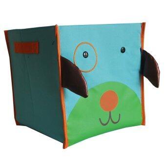 จัดโปรโมชั่น Gift4all กล่องเก็บอุปกรณ์ลายการ์ตูน สีเขียว