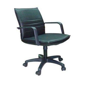 ต้องการขาย Gindex เก้าอี้ทำงาน ขาเหล็กดำ รุ่น Gindex-004A ( สีดำ )